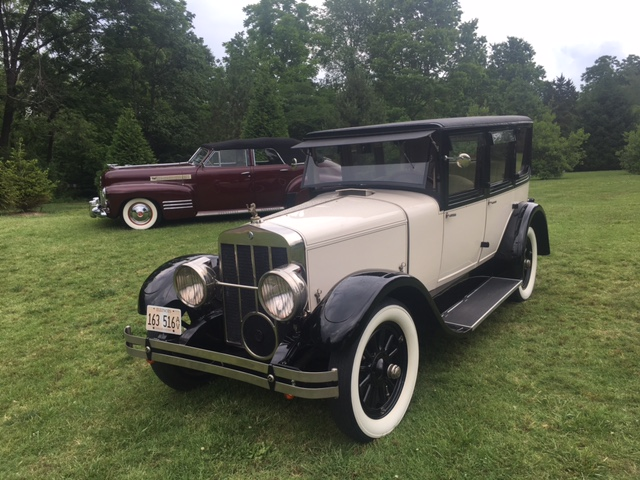 George Randall's 1926 Franklin Sedan