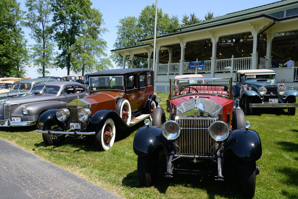 Stately 1925 Rolls-Royce and sporty 1927 Rolls-Royce