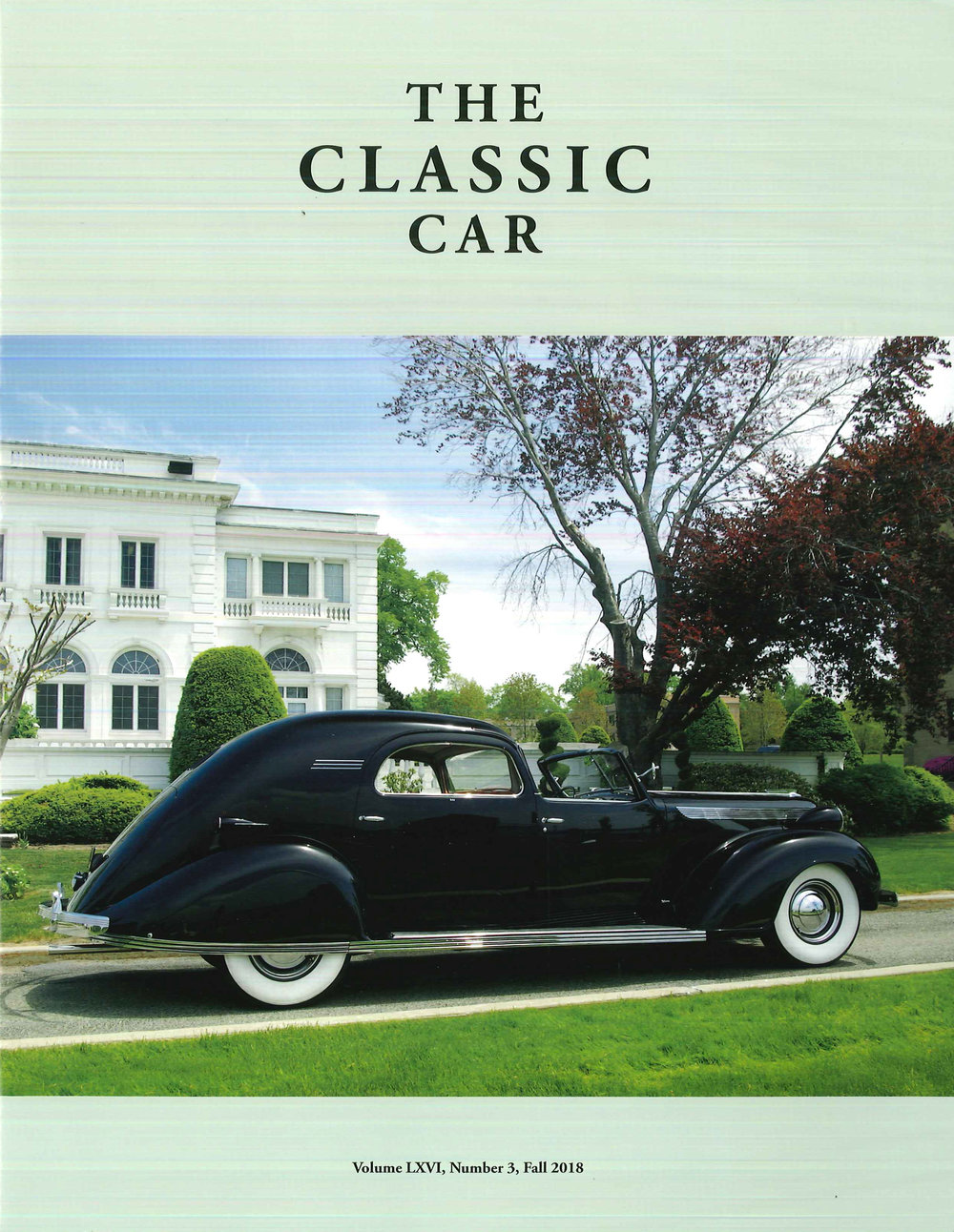 The Classic Car  Magazine ~Published Quarterly~