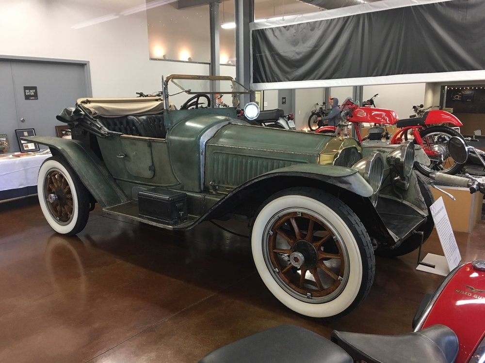 1915 Packard Dominant Six, the Pace Car from the 1915 Indianapolis 500 Race   Owned by Alan and Nancy Strong