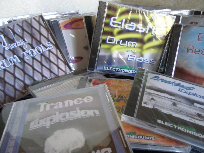The days before EVERYTHING was download only -- when my entire catalog was physical CD inventory!