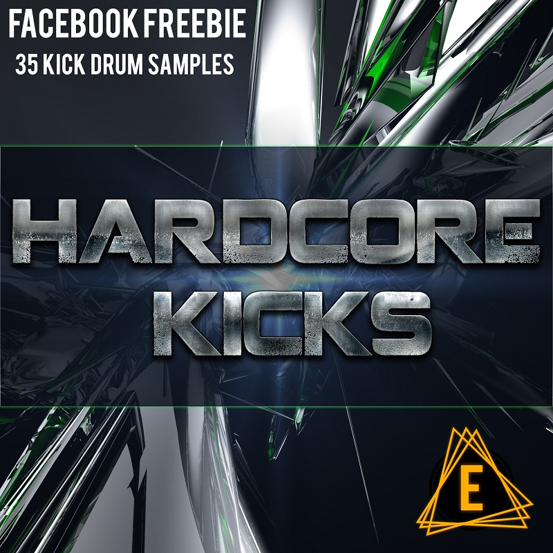 Facebook freebie sample pack of tuned aggressive kick drums