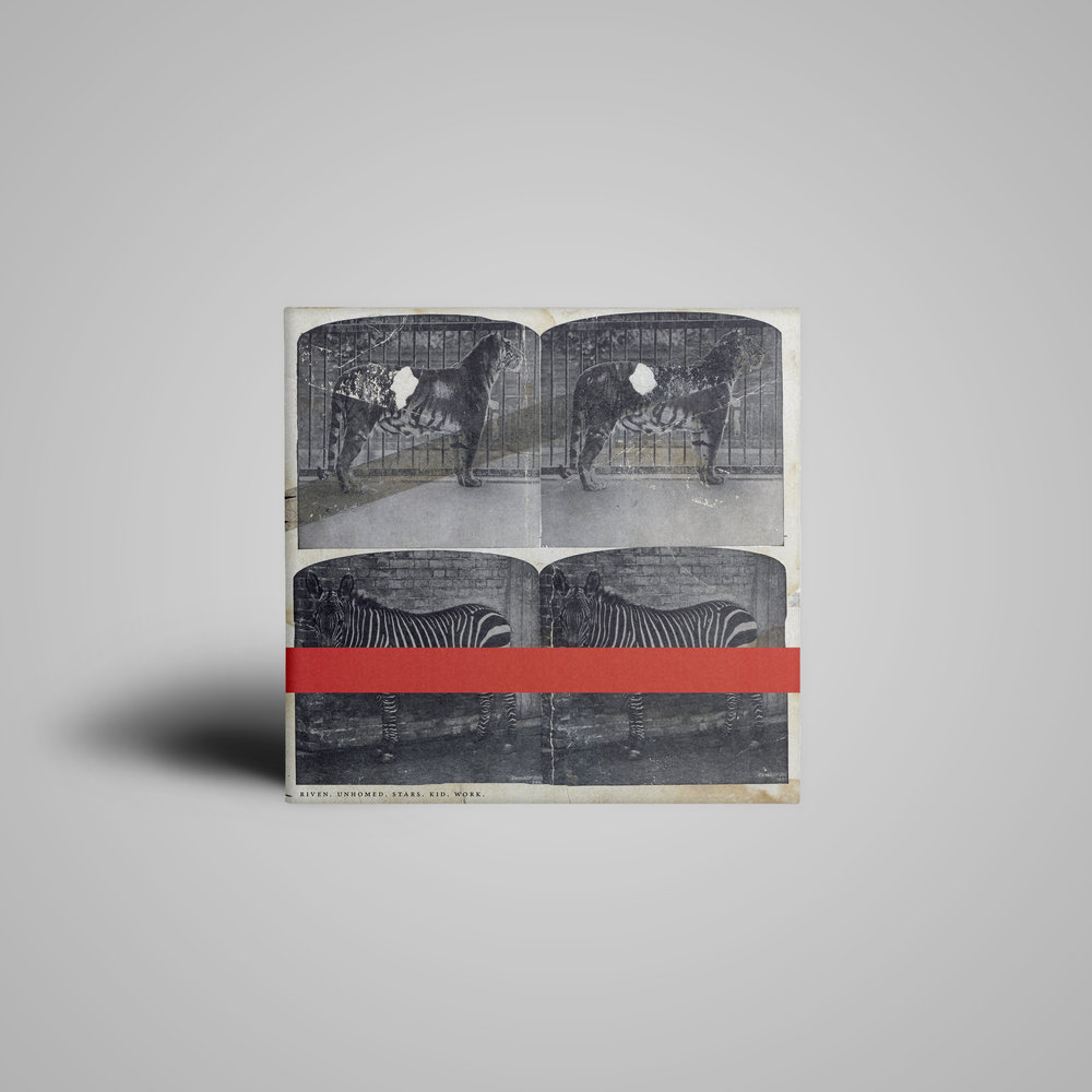 Digital album cover (B) for  Kleinerwasserbär .  2015 .