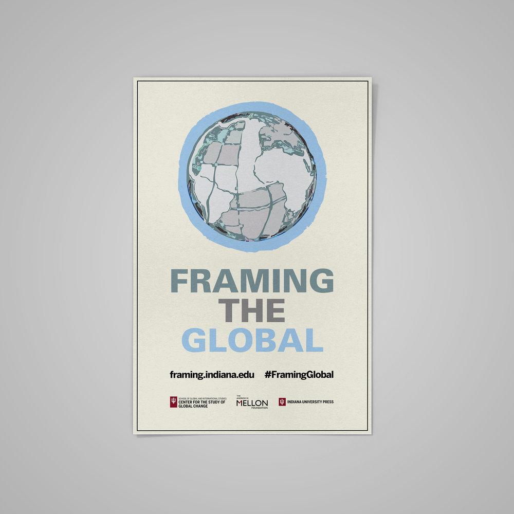 Poster for  Framing The Global .  2018 .