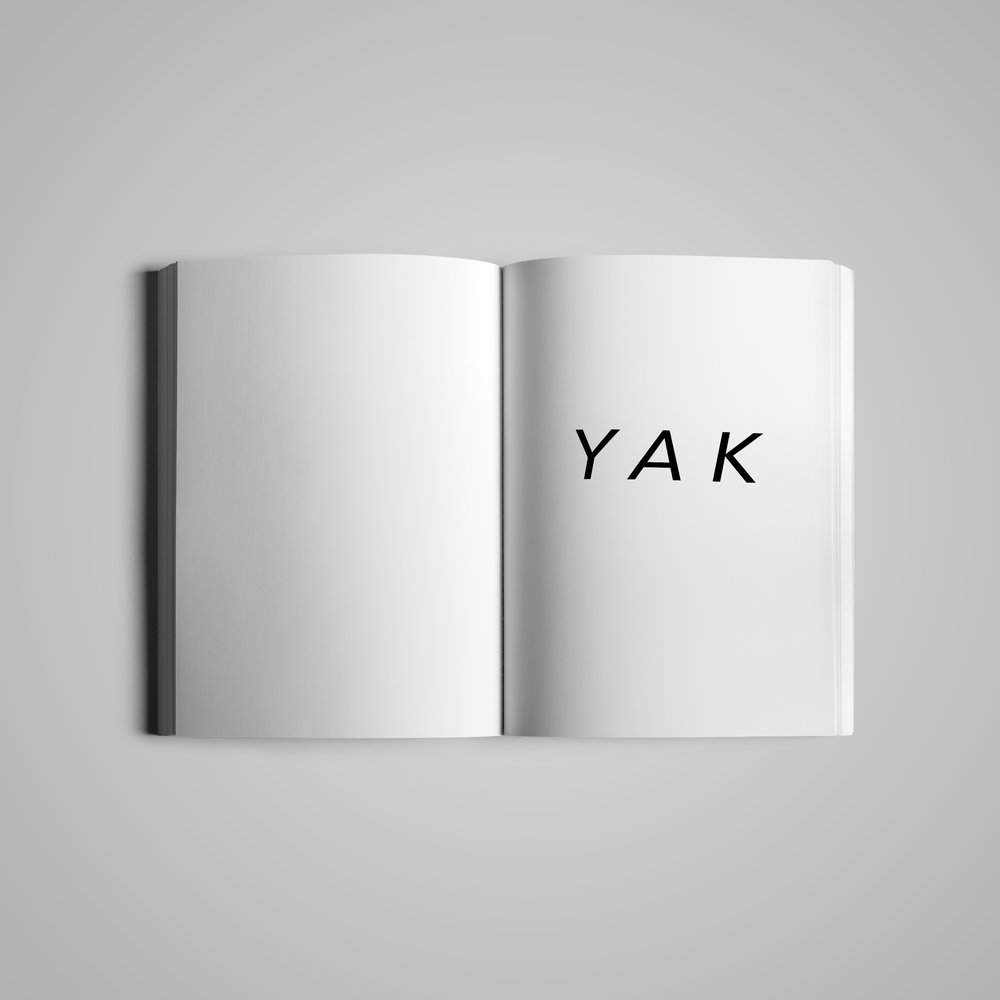 Book interior (1) for  Monster House Press .  YAK: Manifestations  by Sharnayla.  2015.