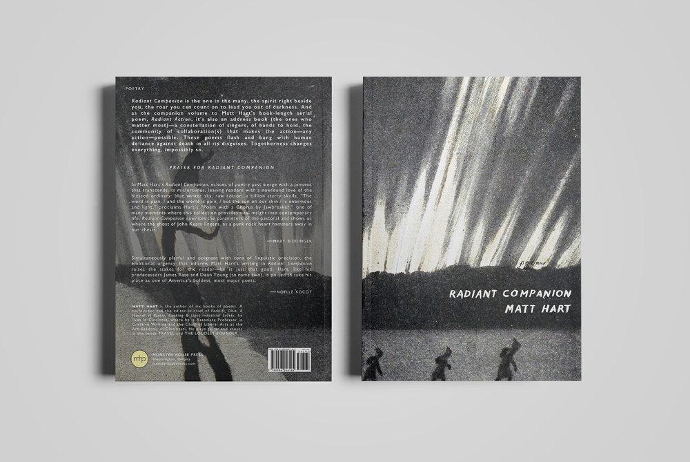 Cover for  Monster House Press .  Radiant Companion  by Matt Hart.  2016.