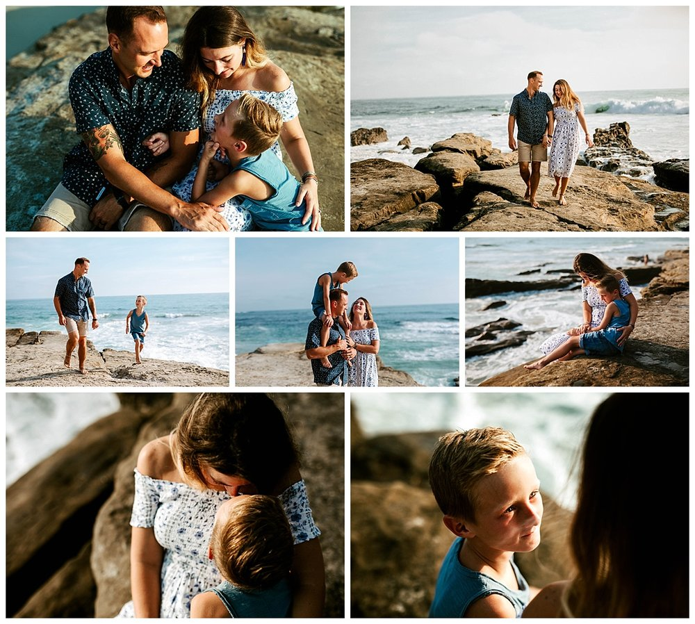 Windansea beach San Diego session