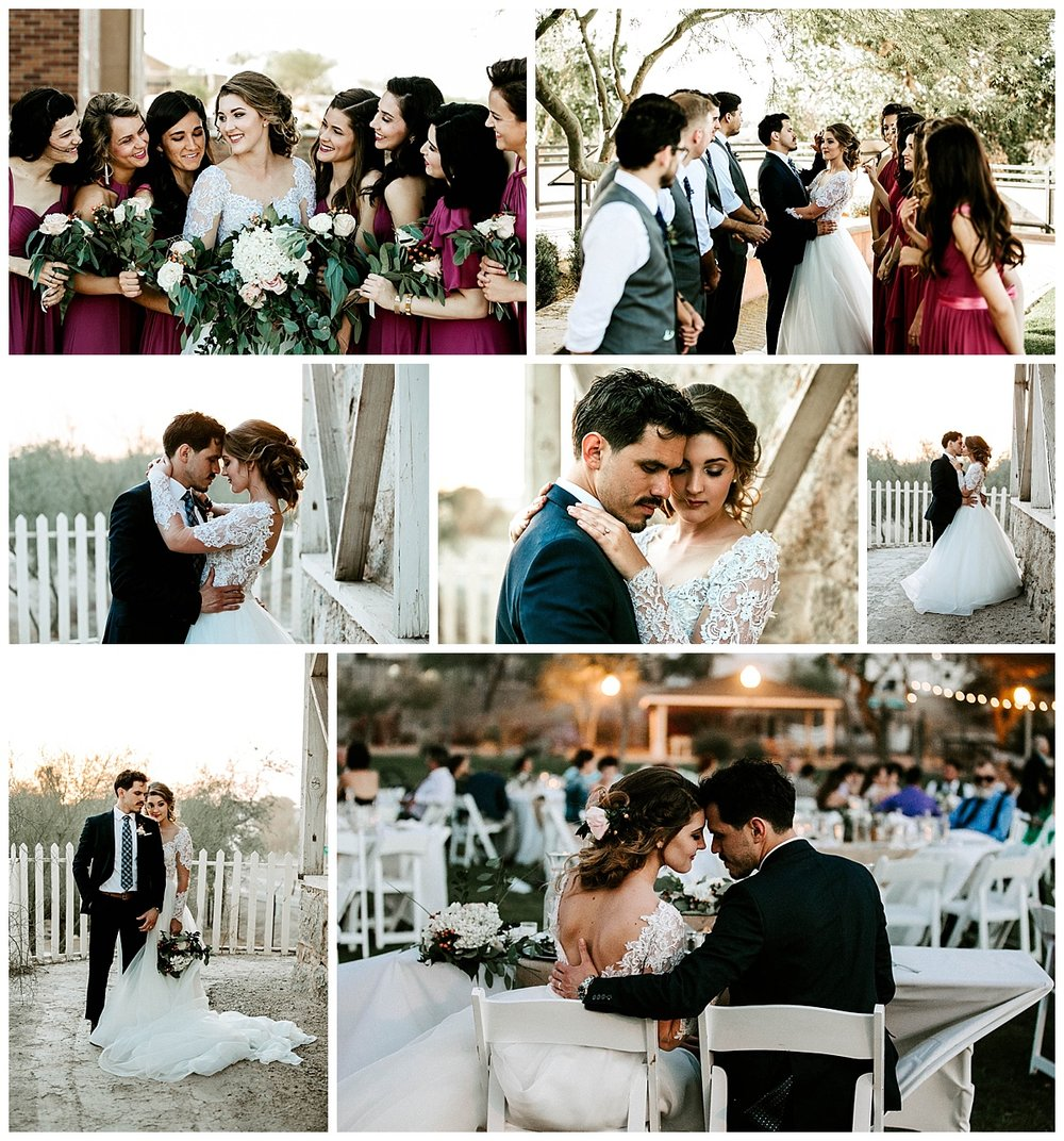yuma sunset wedding