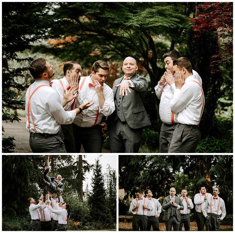 groomsmen in Everett Washington