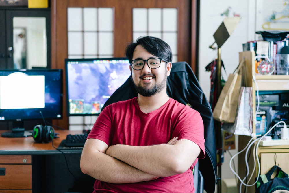 Adam Shah the professional Dota 2 player