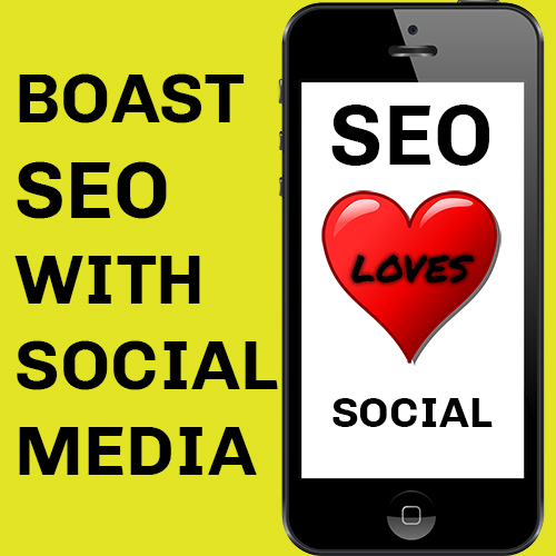 Boost seo with social media channels