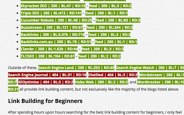 Link Miner | Google Chrome Extensions For SEO