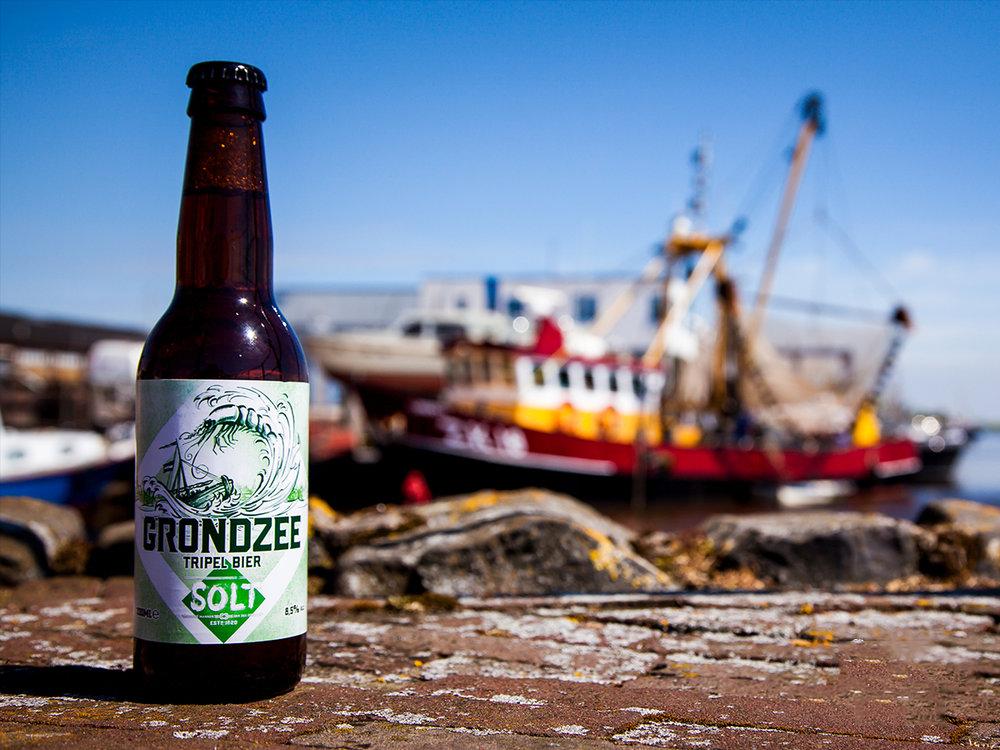'Grondzee' Tripel bier van Solt