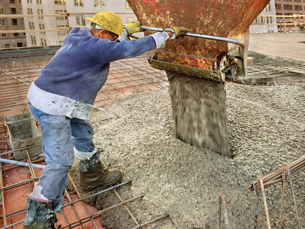 In last three years China consumed 45% more concrete than US did in the 20th C -