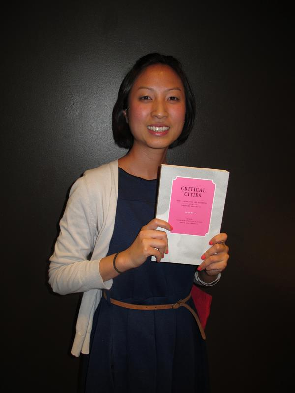 Ashley Wong at the launch of Critical Cities Volume 3