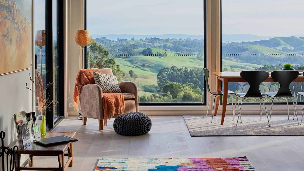 Halcyon Cottage Retreat Gippsland views