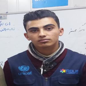 Tareq Ziad Al-Hoshan,   Product Tester,  Zaatari-Jeeltek