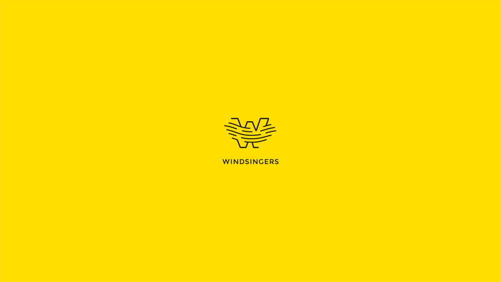 Windsingers  Five-person acapella group's brand identity