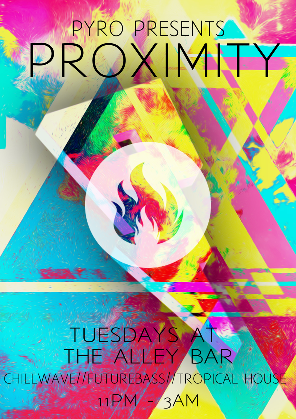 Every Tuesday - 11pm Till 3am.DJ PYRO playing the best of Tropical House | Dreamwave and Future Bass.
