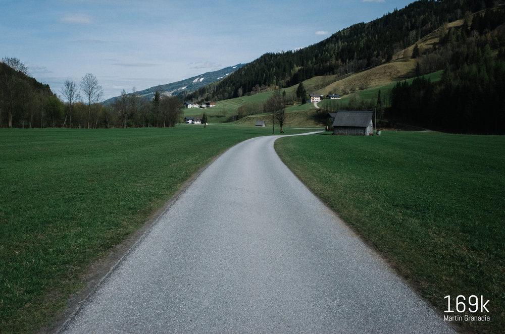 Der Ennsradweg R7 bei Pichl