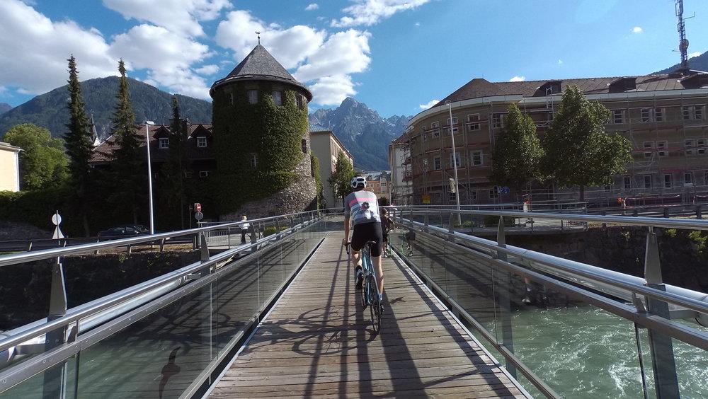 Wer in der schönen Innenstadt von Lienz landet, ist falsch abgebogen ;) (Foto: Jan)
