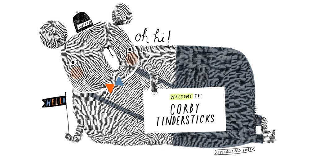 Corby tindersticks branding