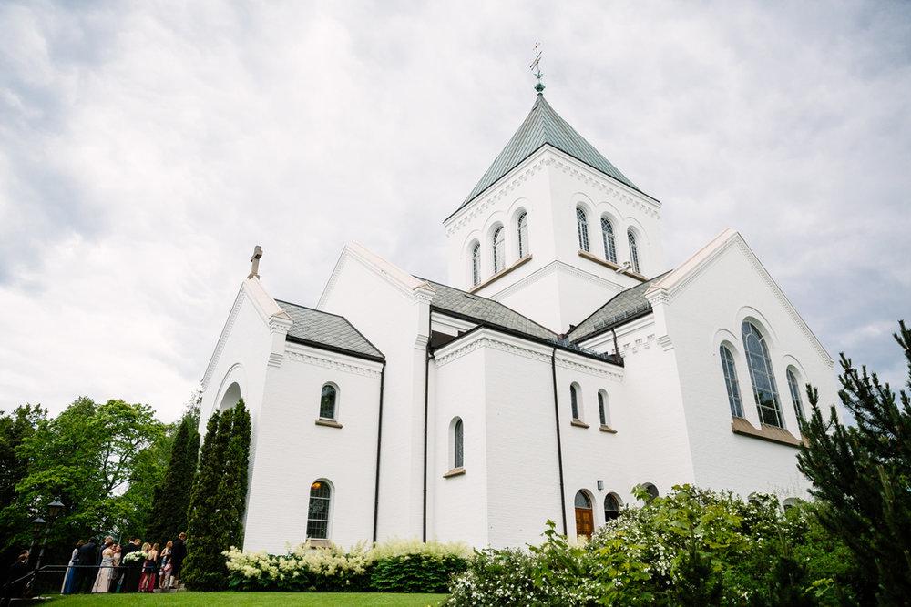 bryllup ullern kirke