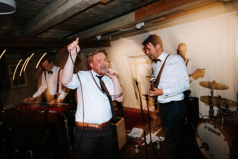 Ingenting slår live musikk med skikkelig trøkk! Foto:  Vegard Giskehaug
