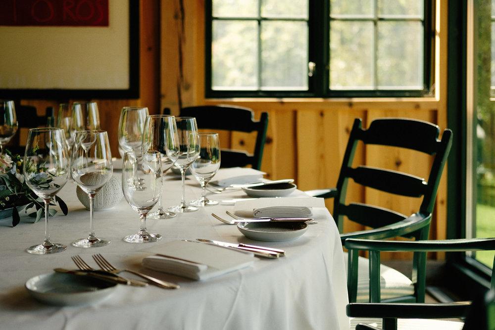 Middag restaurant Engø Gård