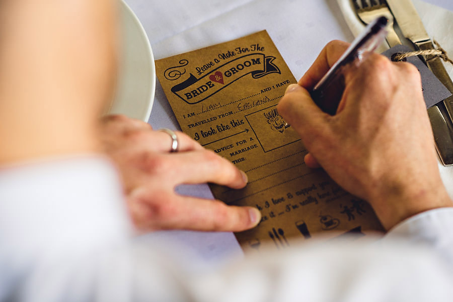 bryllupsinspirasjon bordkort til bryllup i stavanger