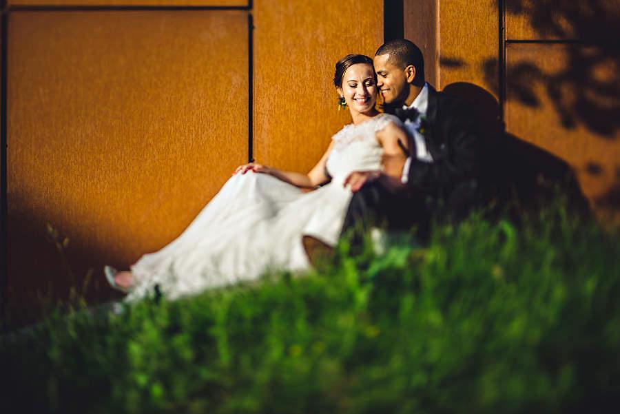 bryllupsbilde ved tou scene