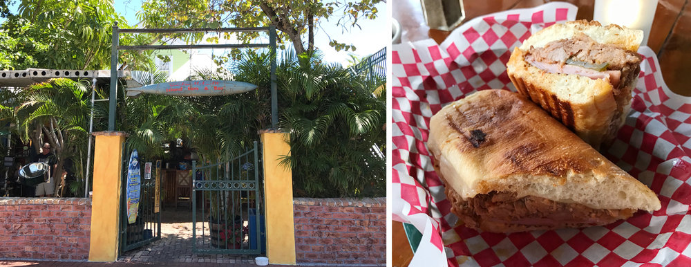 The Blue Macaw - home to what may be Florida's best cubano (sorry Miami!)