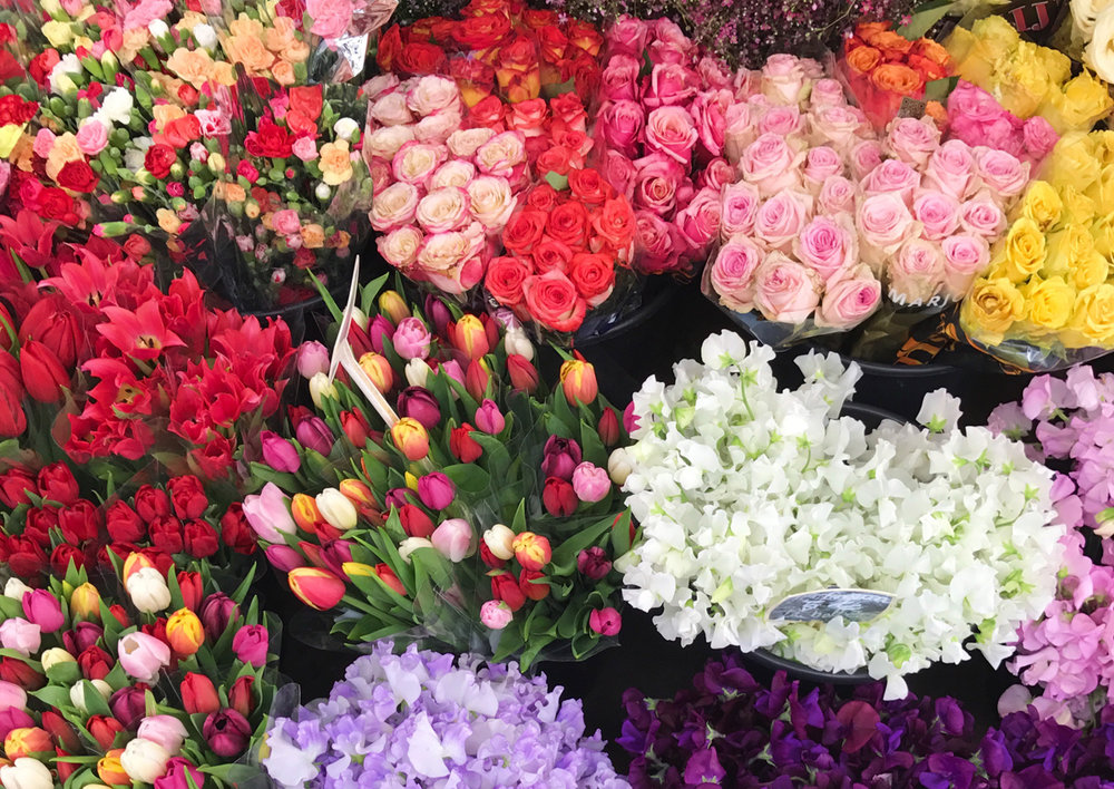 Staying in Paris for more than a weekend? Pick up some flowers for your flat.