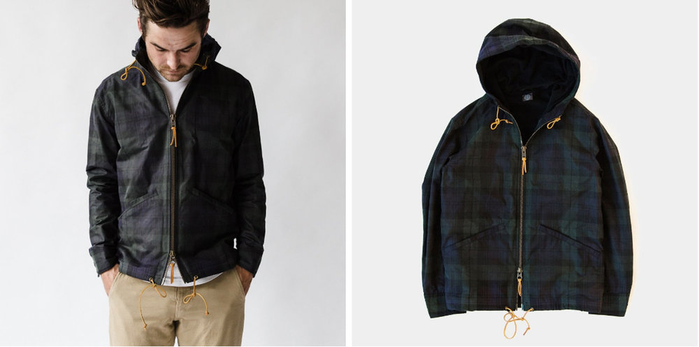 The blackwatch anorak - with some great details.