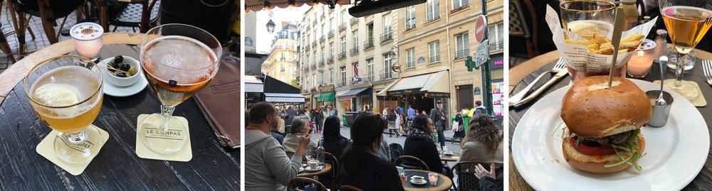 A perfect evening Le Compas Cafe