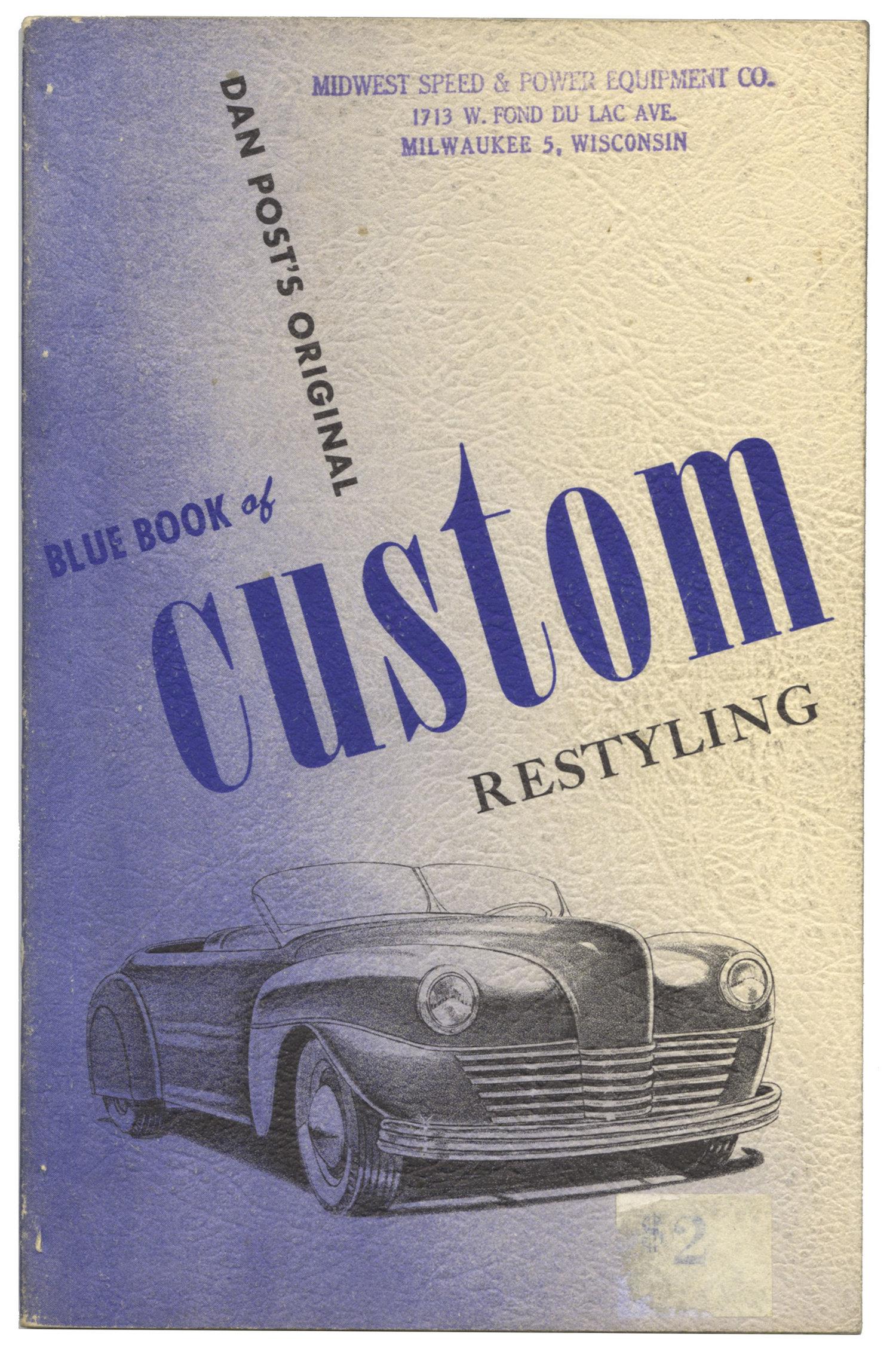 BLUE BOOK OF CUSTOM RESTYLING — Martin Hartzold, bookseller