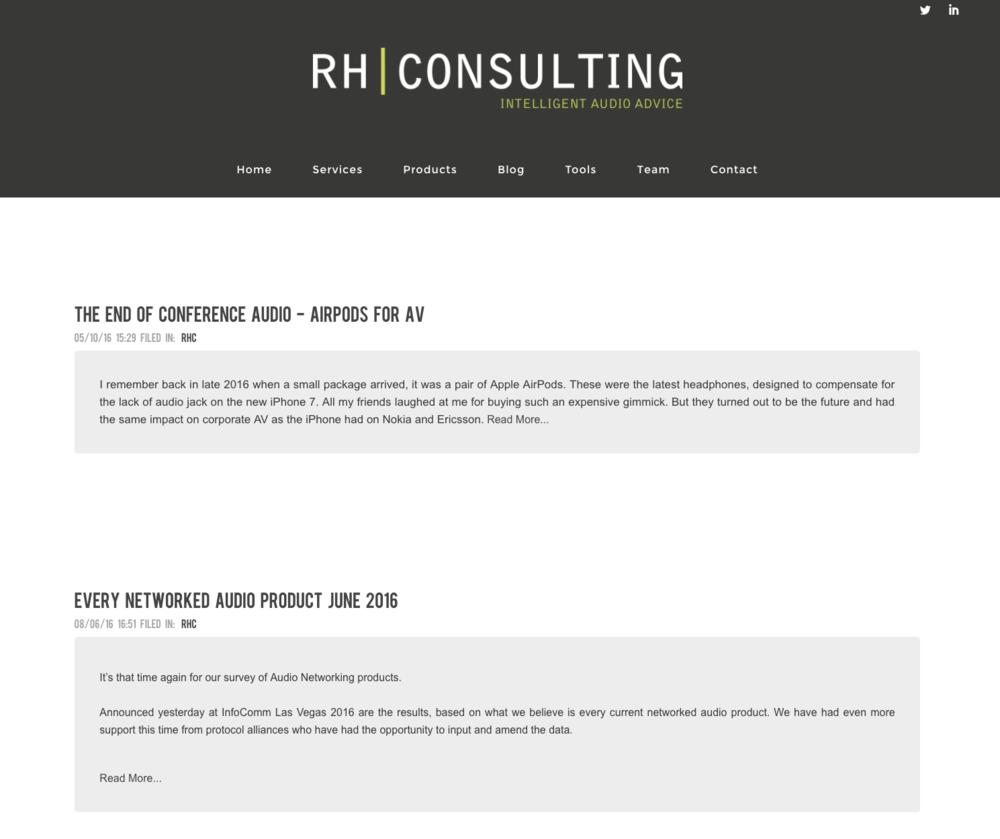RHC - Industry Blog