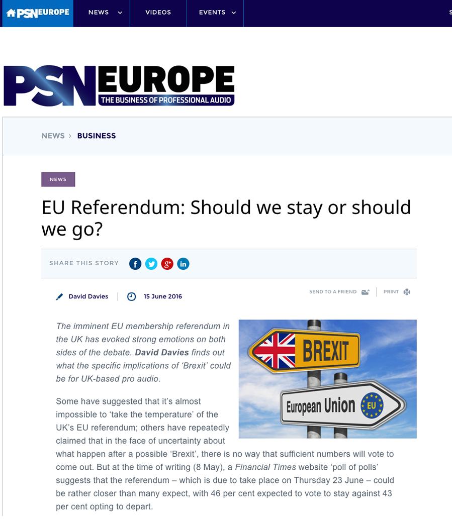 PSN Europe