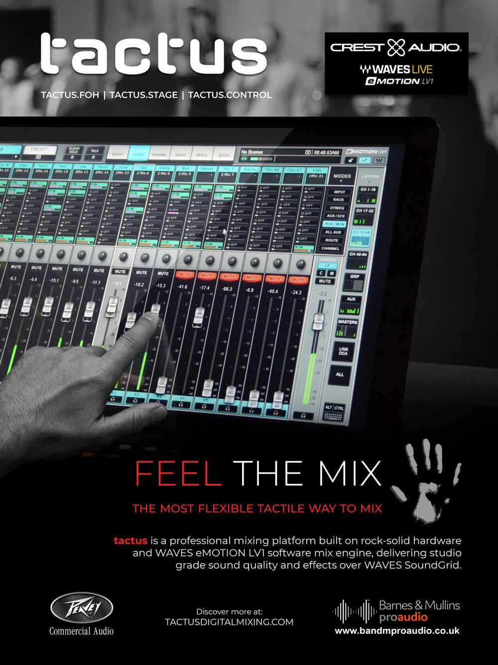 Feel the mix tactus_peavey_advert_V01.png
