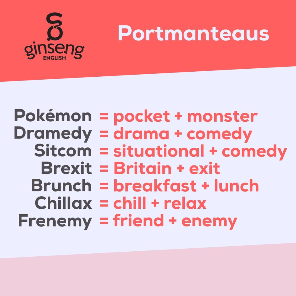 Portmanteau Words