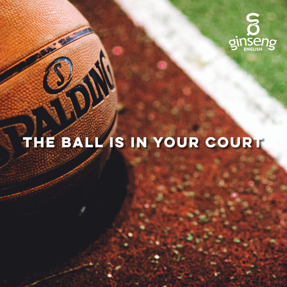 English Idiom - Ball in Your Court