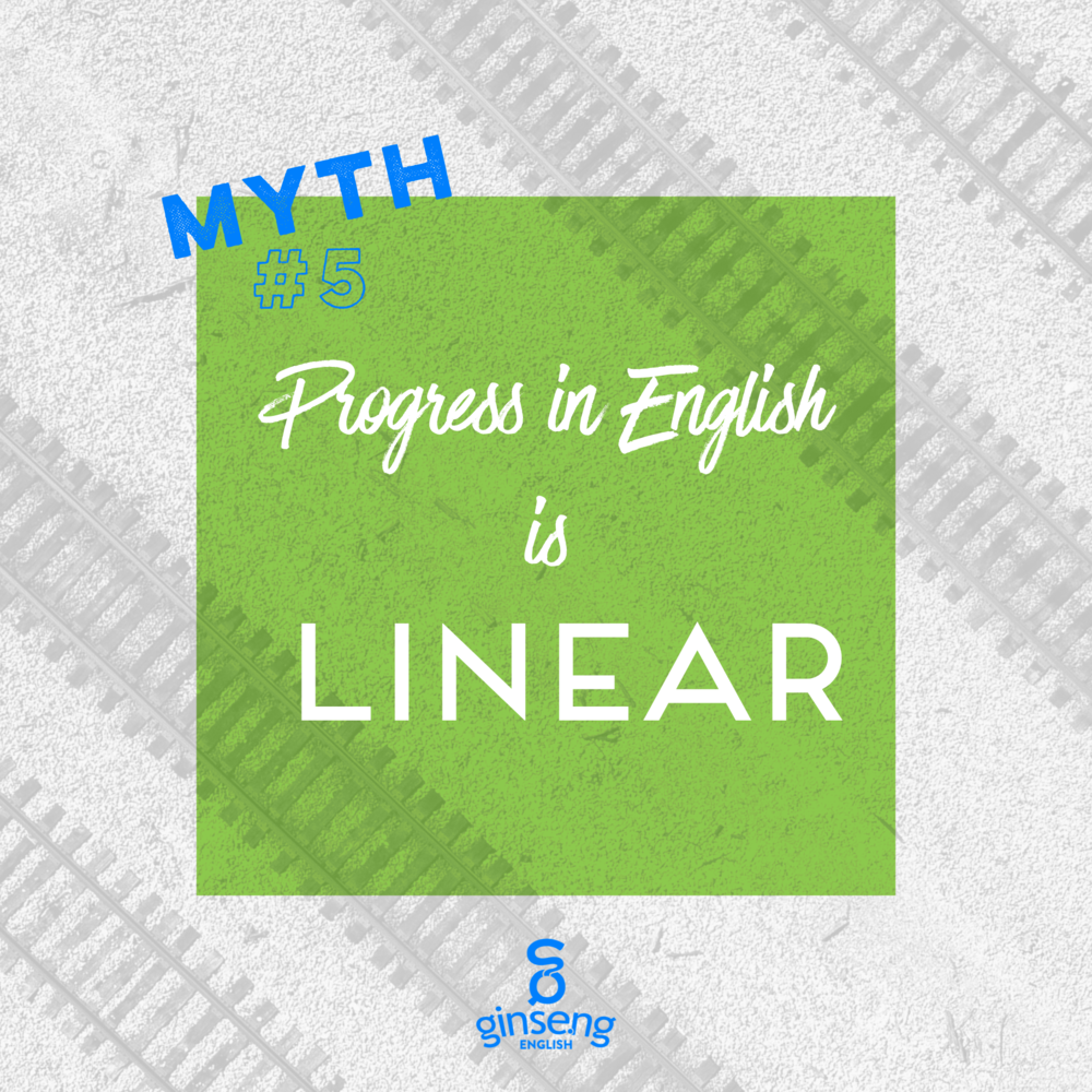 Myth #5 Progress in English is Linear