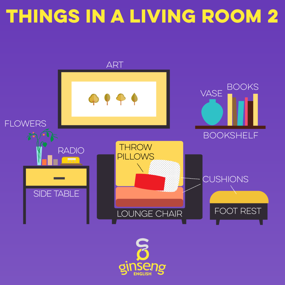 Things in a Living Room: 2