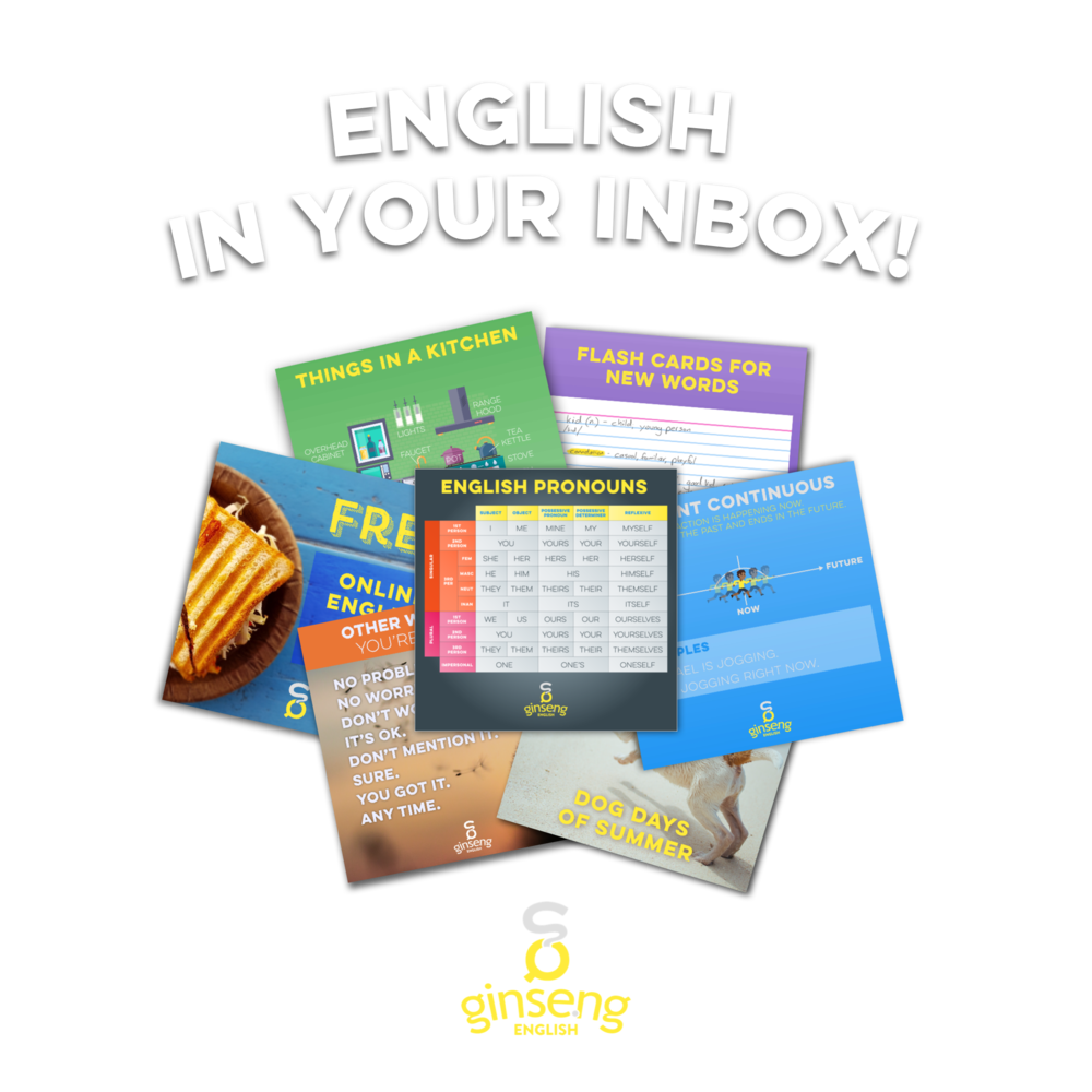 English In Your Inbox