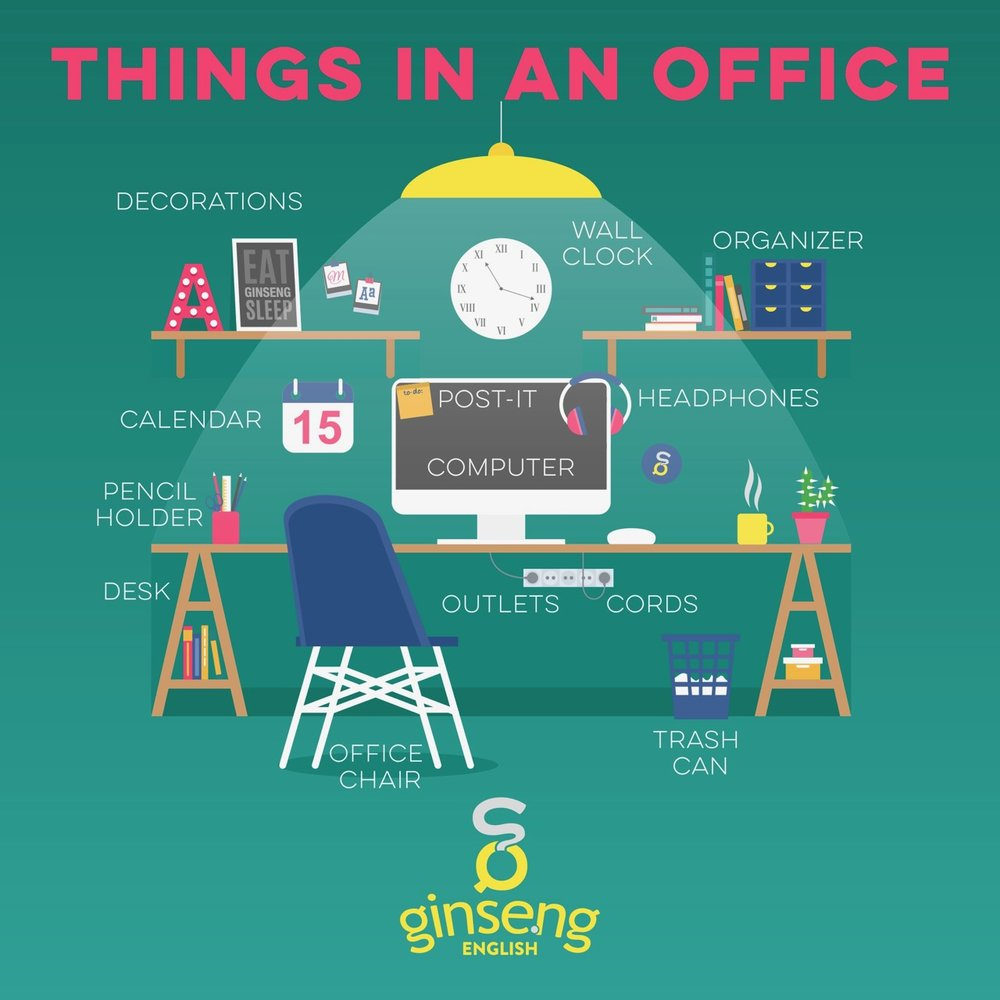 Things in an Office