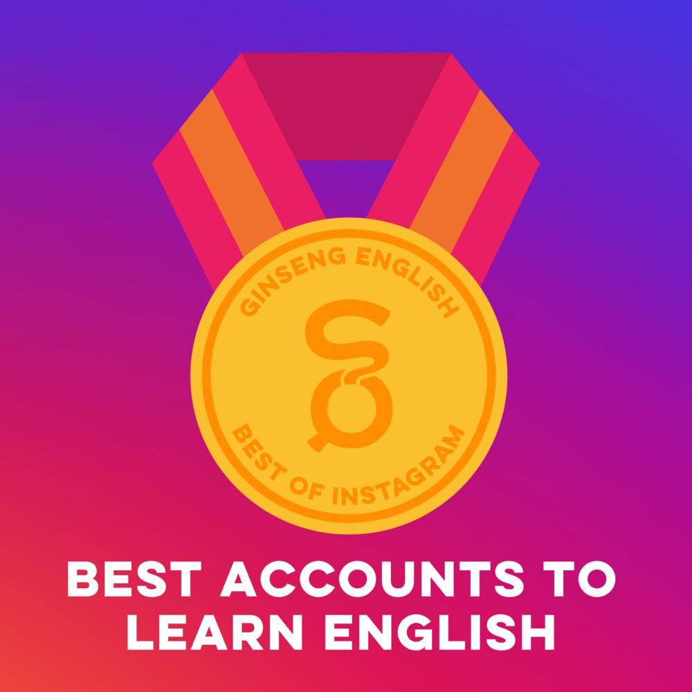 أفضل الحسابات لتعلم اللغة الإنجليزية على Instagram