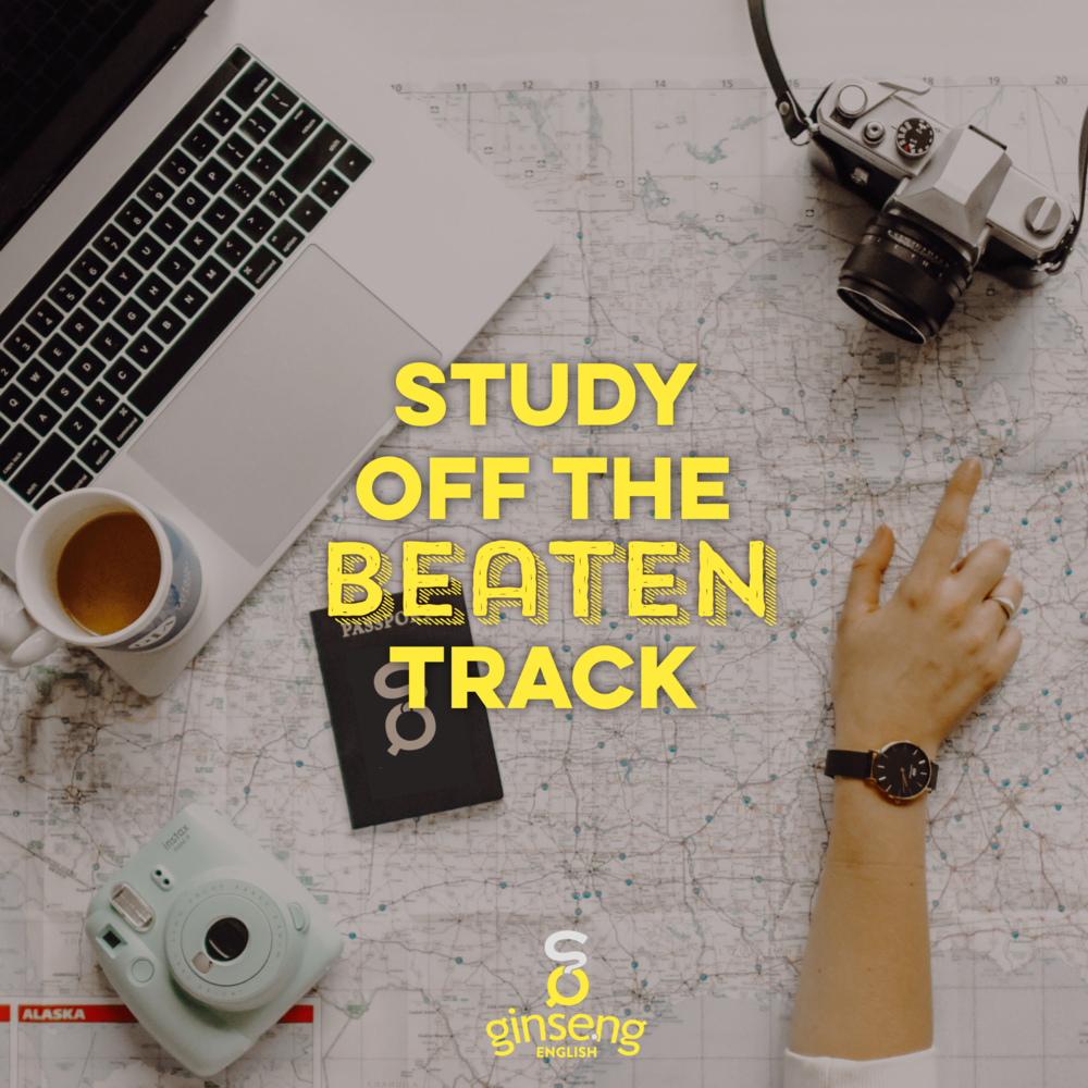Study English Off the Beaten Track