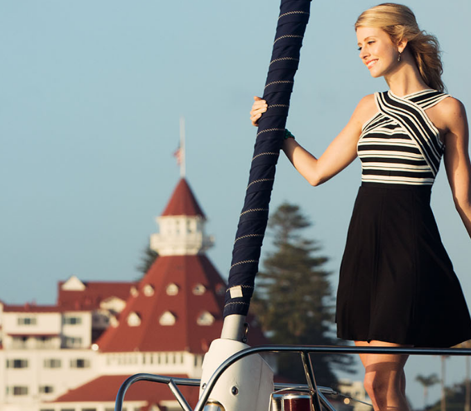 Hotel Del Coronado, a luxury hotel in southern California.   Image: hoteldel.com