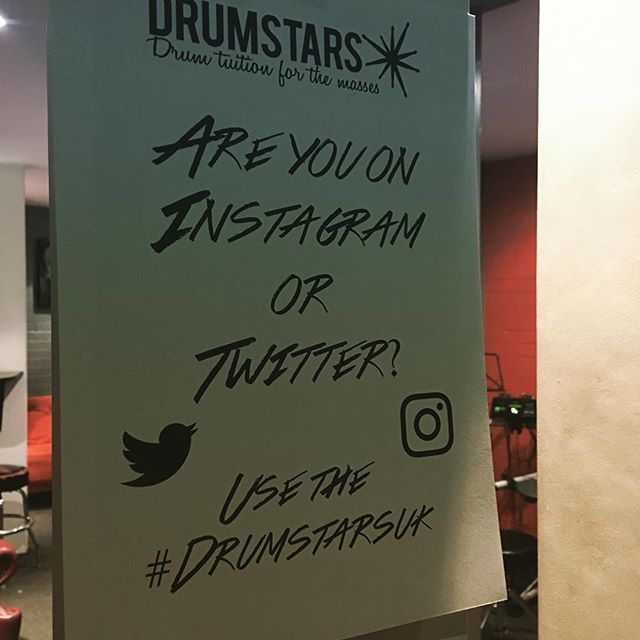 Remember to hashtag #drumstarsuk