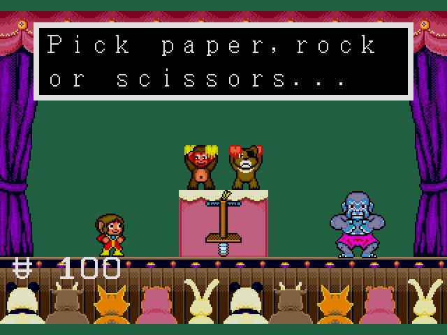 Thrilling Rock-Paper-Scissors action!